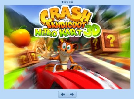 CRASH BANDICOOT NITRO KART [1200円]